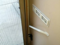 2001 Newmar Newaire Retractable Screen After 2