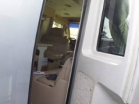 2001 Newmar Newaire Retractable Screen Before 4