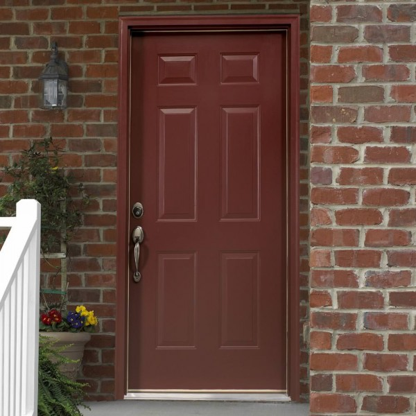 Brick Mould Entry Door