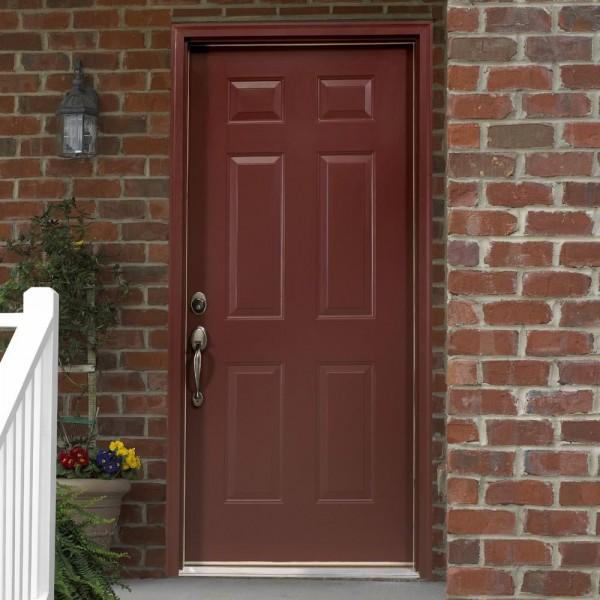 Brick Mould Entry Door