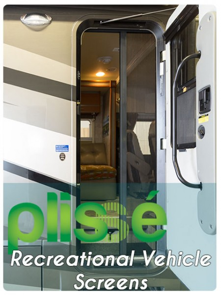 RV & Motorhome Retractable Screen Gallery Image