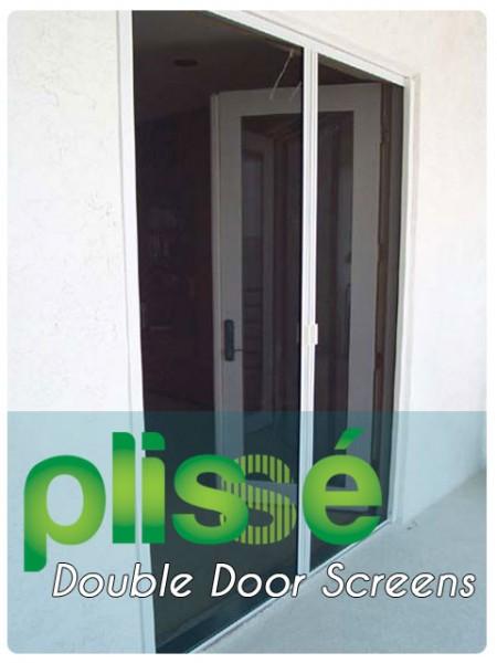 Double Door Retractable Screen Gallery Image