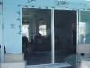 Plisse Patio Door - Outside - In Use