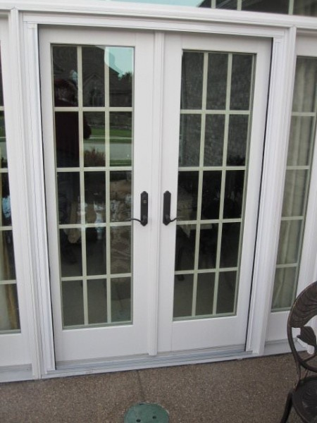 Retractable screens for french doors for Screen doors for french doors