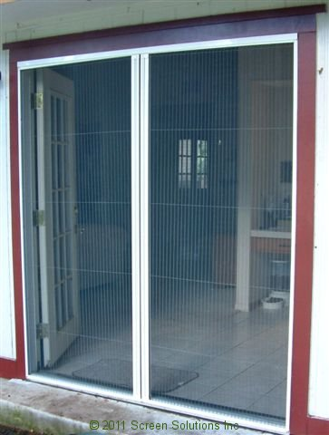 Retractable screens for french doorsretractable screens for Phantom door screens prices
