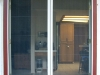 Plisse French Door - Outside - In Use 1