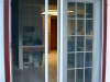 Plisse French Door - Outside - In Use 3