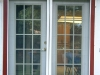 Plisse French Door - Outside - In Use 4