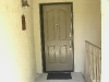 Plisse Condominium Door - Outside - Retracted