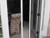 Plisse Atrium - Double - Outside - Half Open