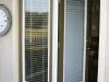 Plisse Atrium - Outside - Retracted - close up