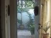 Pelican Cove Plisse Front Door Screen - Inside