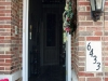 Plisse Front Entrance Door - Outside - In Use