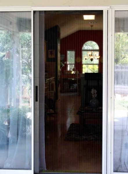 Moline Sliding Patio Retractable Door Screen 2