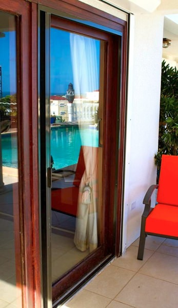 Plisse Sliding Glass Retractable Door Screens