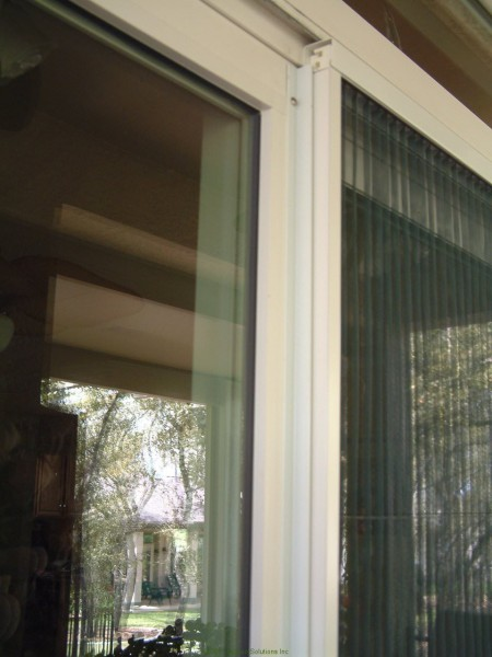 Plisse sliding glass retractable door screens for Disappearing sliding doors