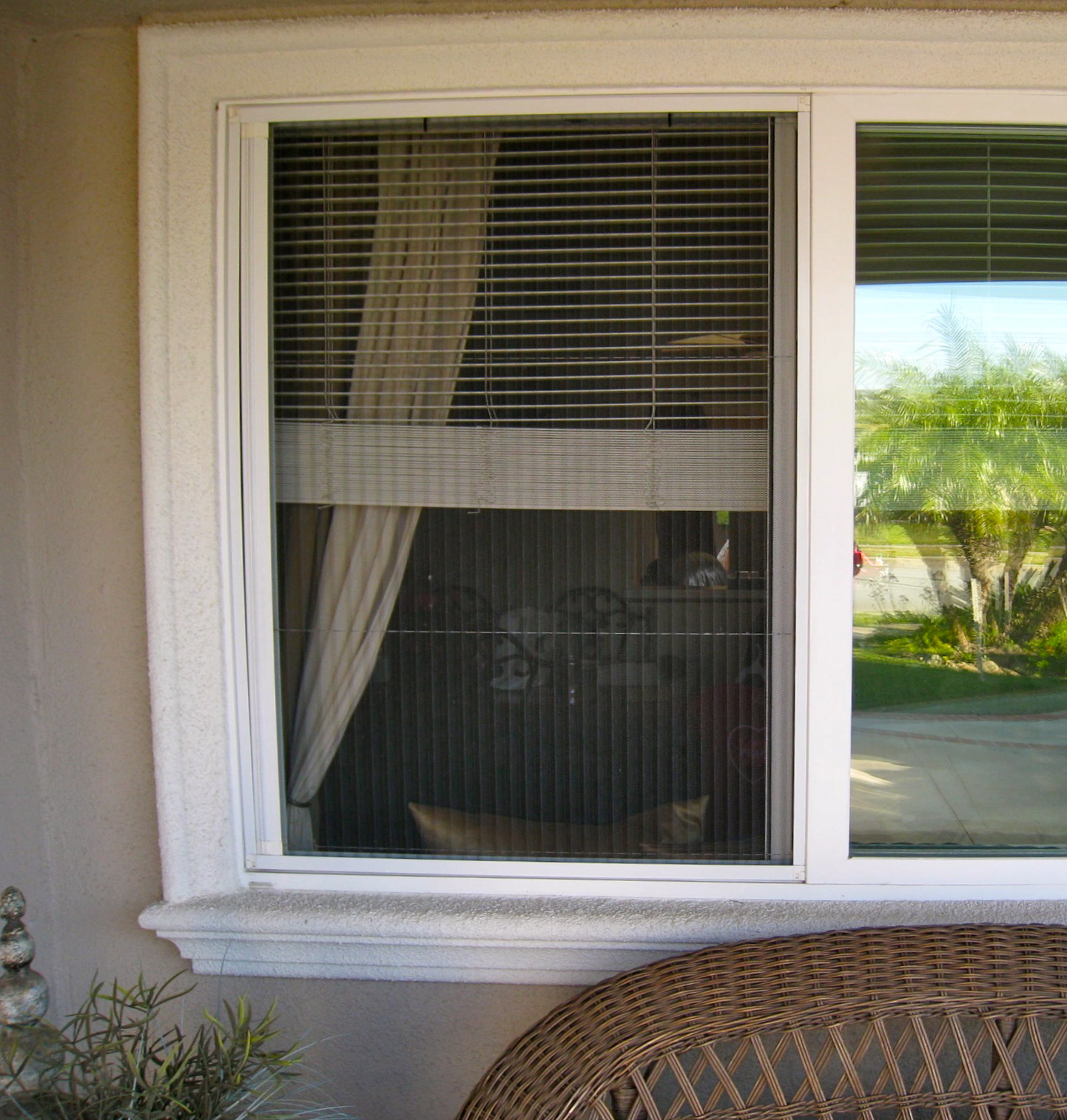 71 best plisse retractable screens images on pinterest for Retractable windows and doors