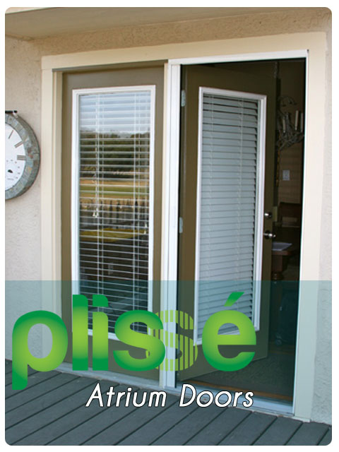 Atrium Door Retractable Screens