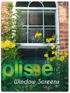 Plisse Retractable Window Screens Gallery