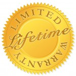 Screen Solutions Limited Lifetime Warranty Seal
