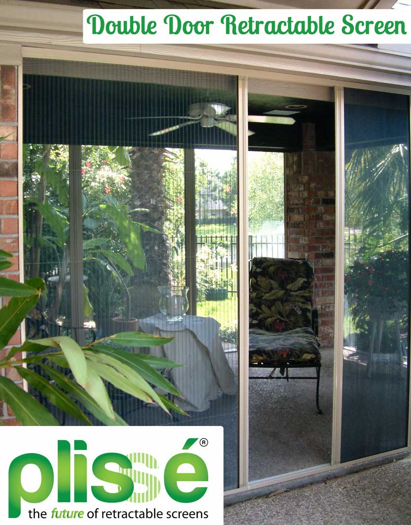 A New Option for Screening French Style Doors & French Door Retractable Screen - Retractable Screens for Doors \u0026 Windows