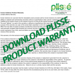 Plisse Retractable Screen Warranty-Thumbnail