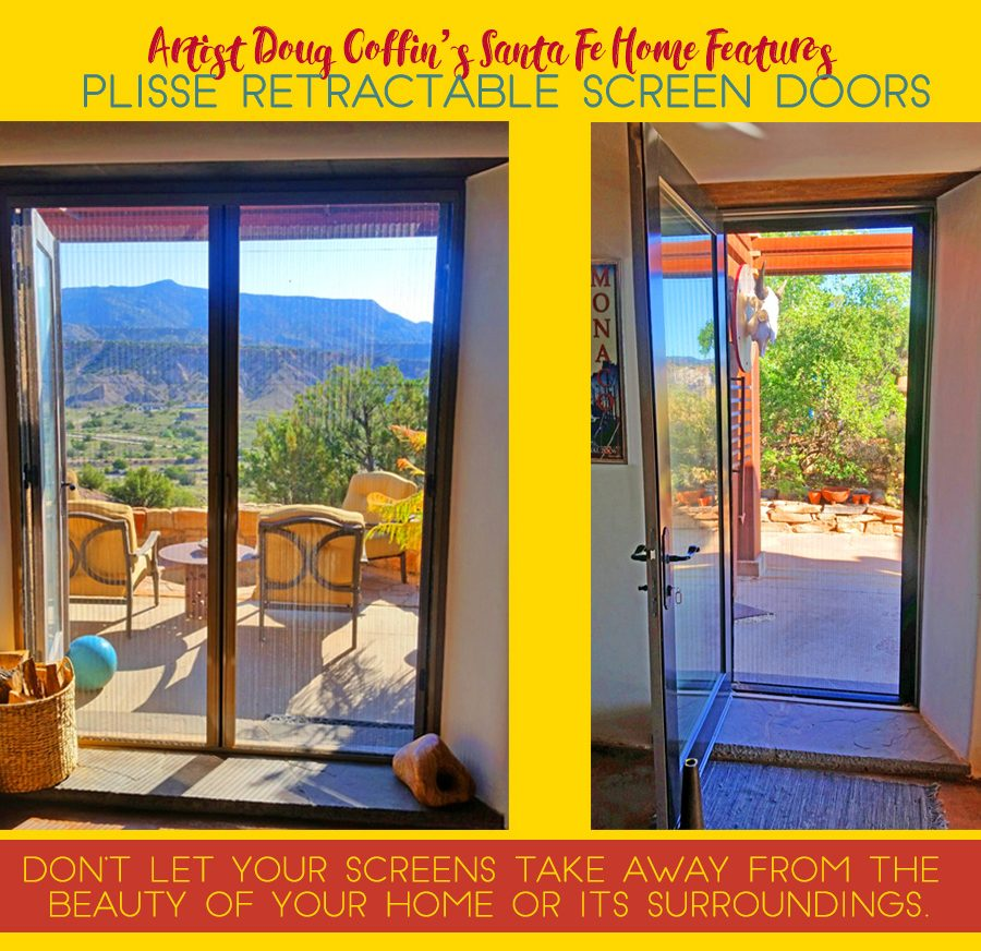 Santa Fe Retractable Screen Doors